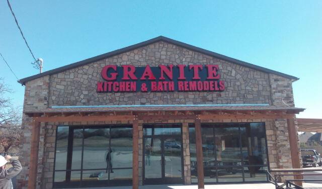 Granite Kitchen & Bath Remodels in North Rich Hills